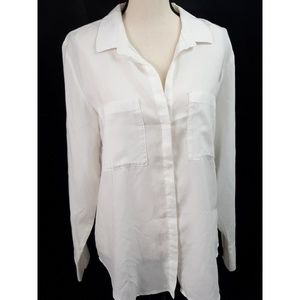 Cloth & Stone Anthropologie Long Sleeve Blouse